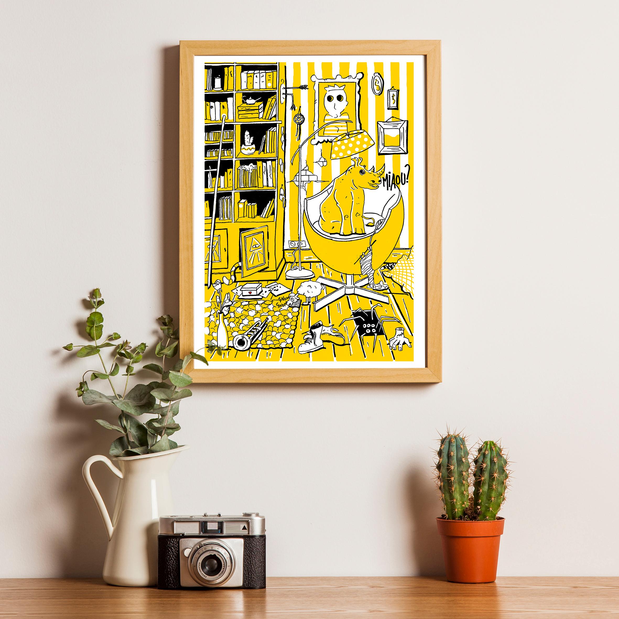 L'appartement - Le Salon