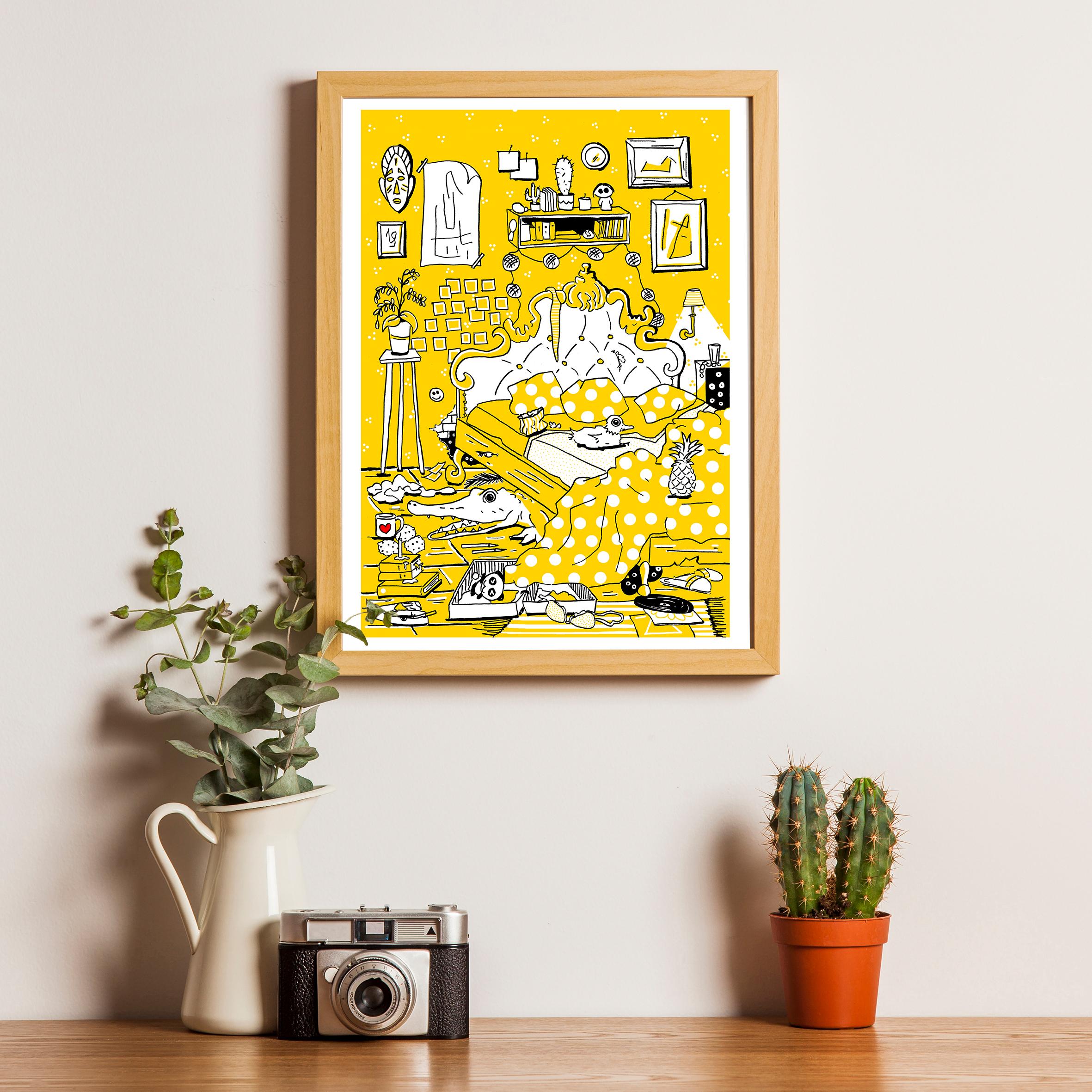 L'appartement - La Chambre
