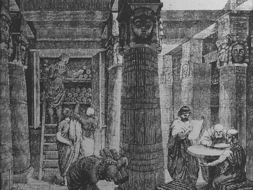 La biblioteca di Alessandria