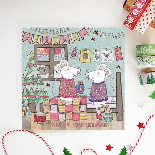 6 x Sister Christmas Card