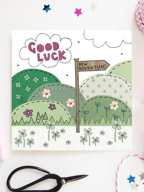 3 x Good Luck Card