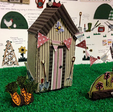 fabric shed & allotment