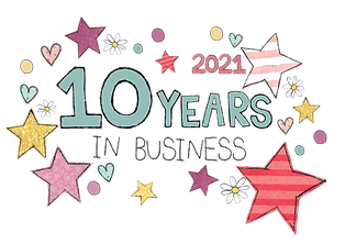 10 years in business flossy