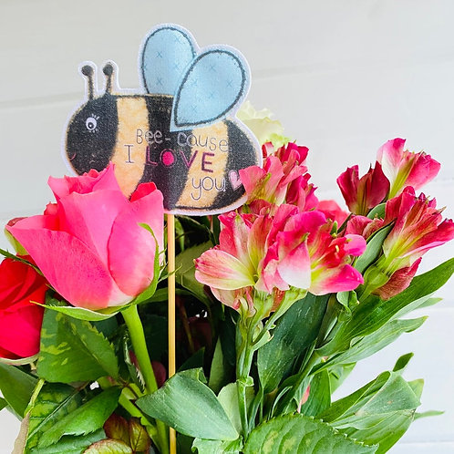 Bumblebee Bouquet/Plant Addition
