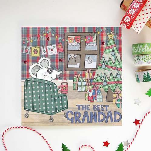 6 x Grandad Christmas Card