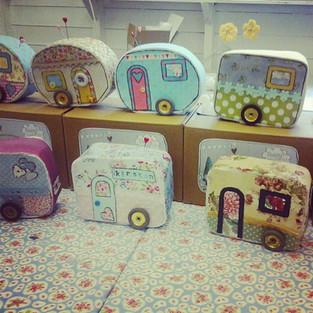 Fabric caravan