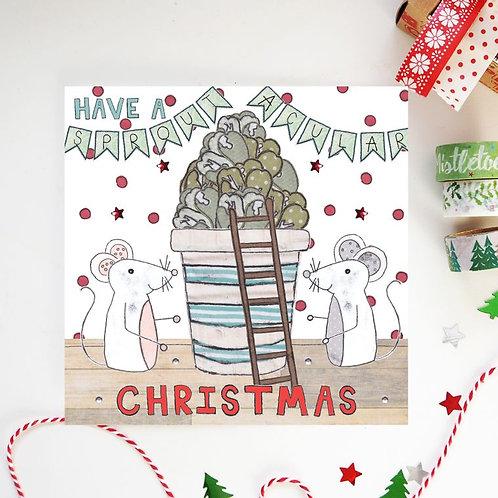 6 x Sproutacular Christmas Card