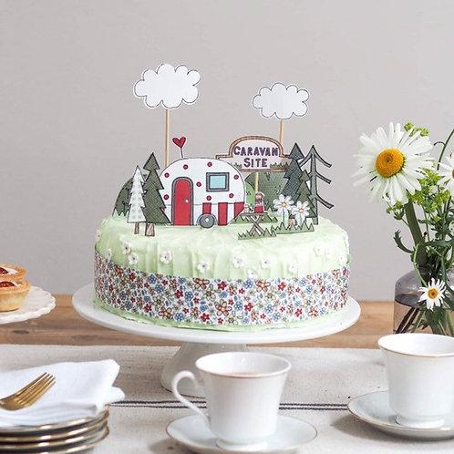 Caravan Cake Topper