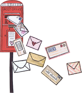 post box flossy