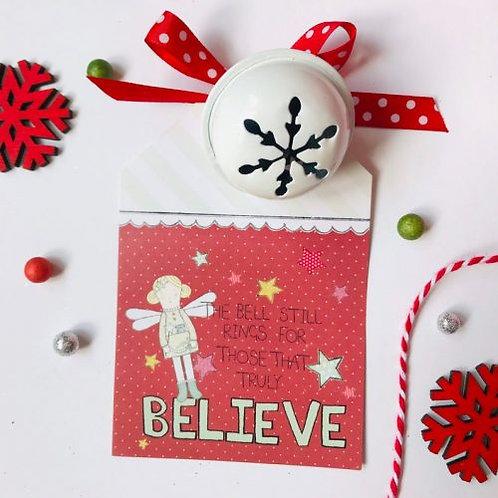 3  x Christmas Bell Fairy Design