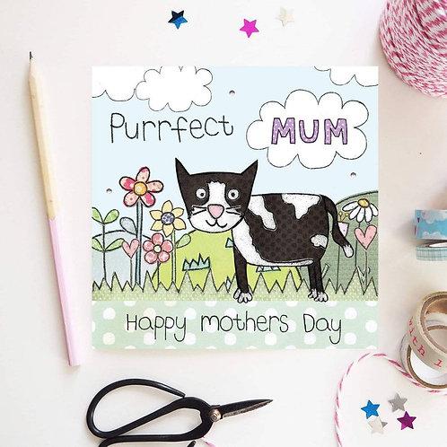 Purrfect Mum Card