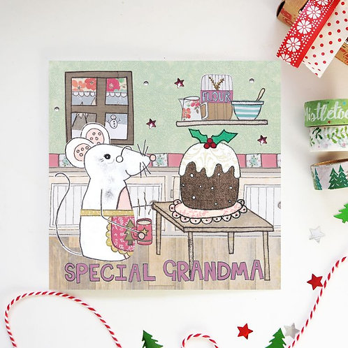 6 x Grandma Christmas Card