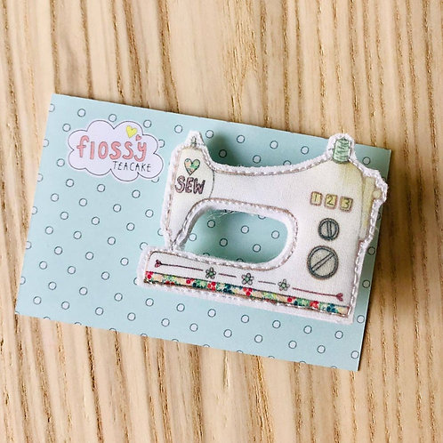 Sewing Machine Badge