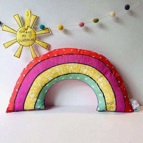 2 x Rainbow Cushion