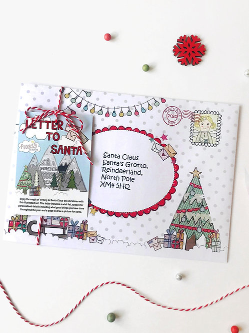 3 x Fairy Letter to Santa
