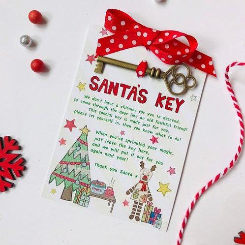 3 x Santas Key