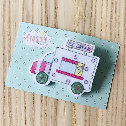3 x Ice cream van Badge