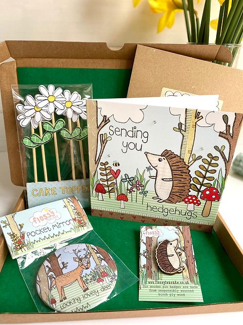 Sending Hedgehugs Letterbox Gift
