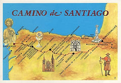 Paul's Route Santiago