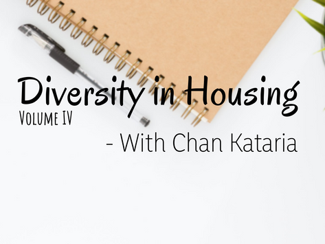 Equal Housing - A Discussion with Chan Kataria