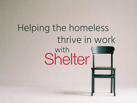 Transforming Lives - an Interview with Shelter