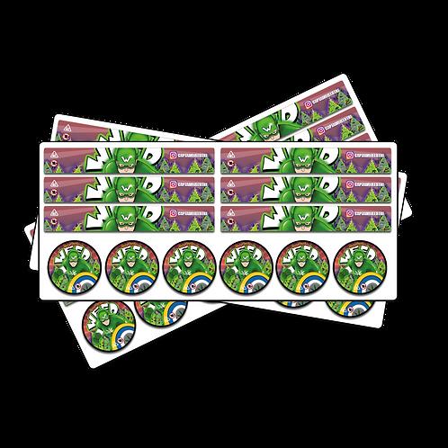 Jar 50ml Label