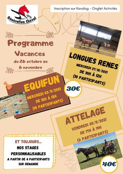 Stage Automne 21
