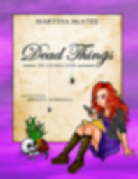 Dead Things Coloring Book