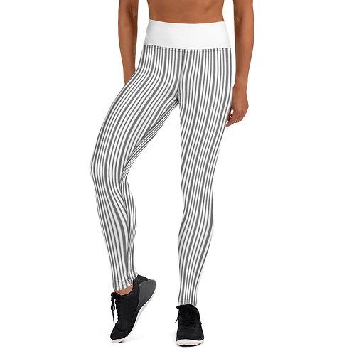 Yoga Leggings Light Stripes
