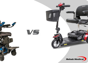 Power Wheelchairs vs Scooters
