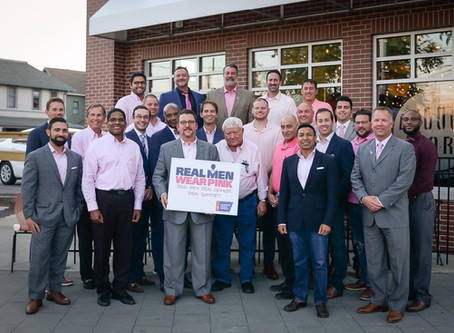 Gearheart Supporting American Cancer Society Through Real Men Wear Pink Initiative