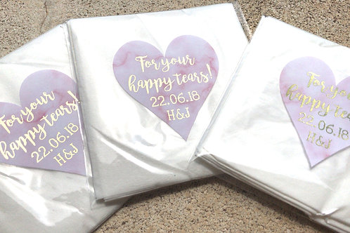 Tissues For Your Happy Tears Pack