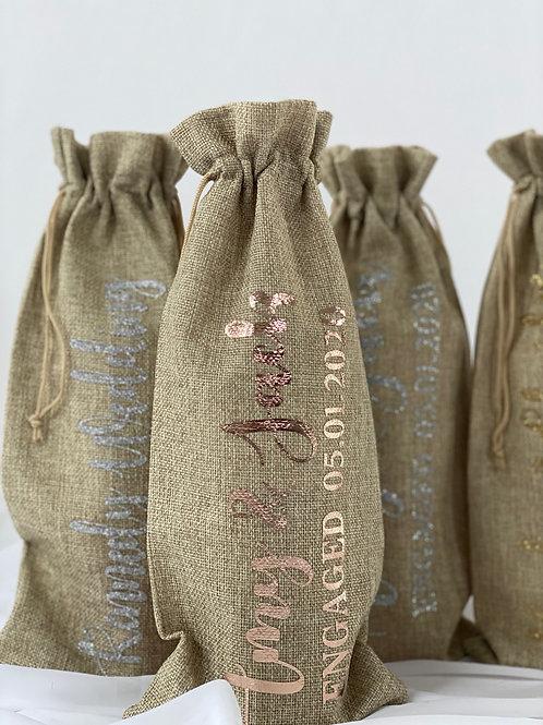 Wine Gift Bags Personalised