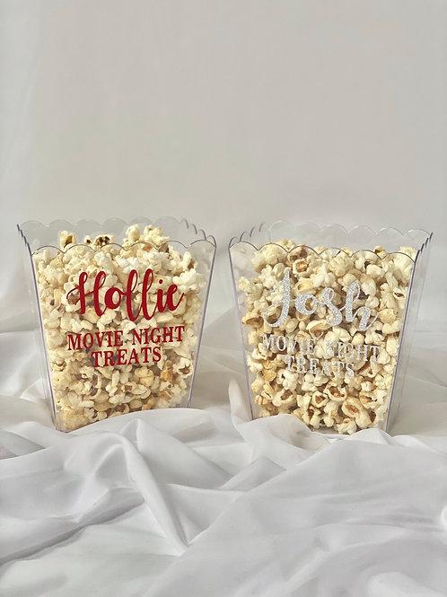 Acrylic popcorn box