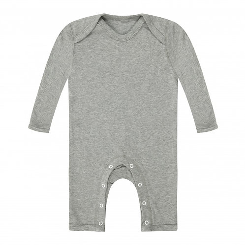 Initials Baby Footless Bodysuit