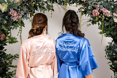Butterfly Bridal Dressing Gown