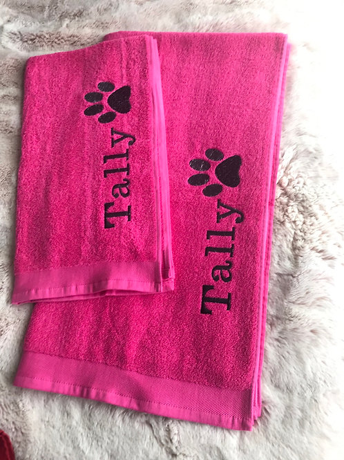 Walkie Towels Personalised LARGE