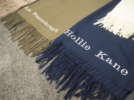 Full Name Only Scarf M&C