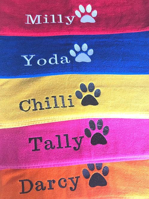 Walkie Towels Personalised SMALL
