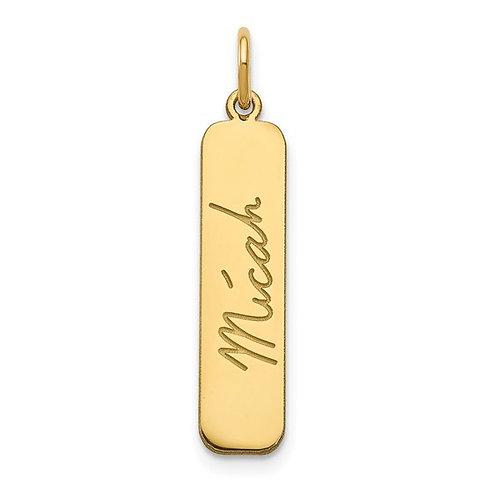 Custom Personalized Signature Pendant