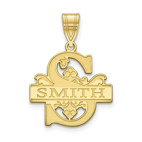 Family Name Pendant