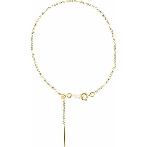 Threader Cable Bracelet (adjustable)