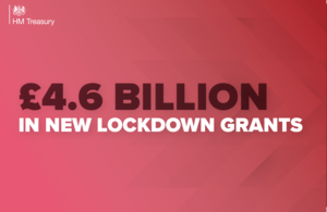 The Government outlined a new £4.6bn package to aid businesses through the latest lockdown.
