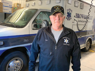 Steinmetz honored as EMT of the year