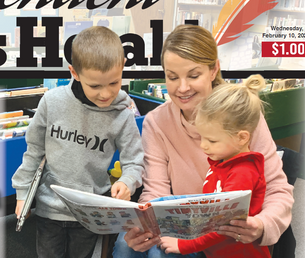 I Love to Read Month: Stueve's grandchildren love to read with her