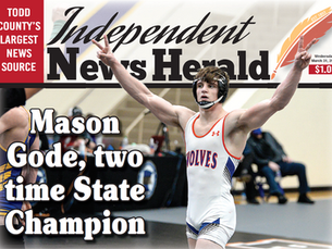 Mason Gode, two-time State Champion Landon Gode is State runner-up, Braden Thom 4th and Gavin Albers
