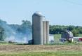 Bertha Fire Department called to a grass fire