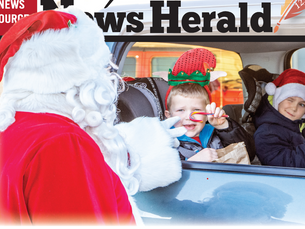 Santa makes a stop in Browerville