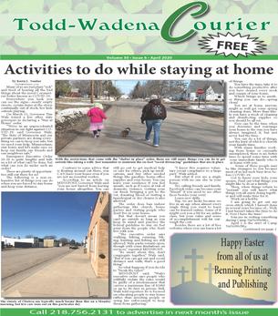 April 2020 Todd-Wadena Courier