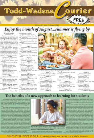 August 2020 Todd-Wadena Courier